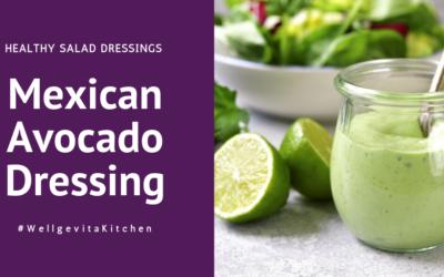 Mexican Avocado Lime Dressing