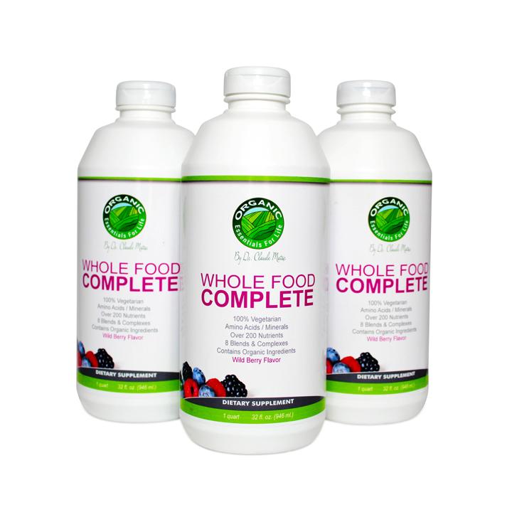 Organic Liquid Multivitamin in the Wellgevita Success Kit